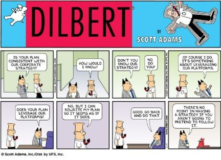 Dilbert on alignment